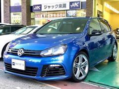 VW ゴルフR 純正ナビ バックカメラ 黒革シート シートヒーター