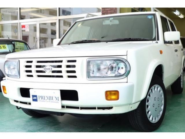 日産 タイプII レザー調シート ナビ ルーフレール 4WD