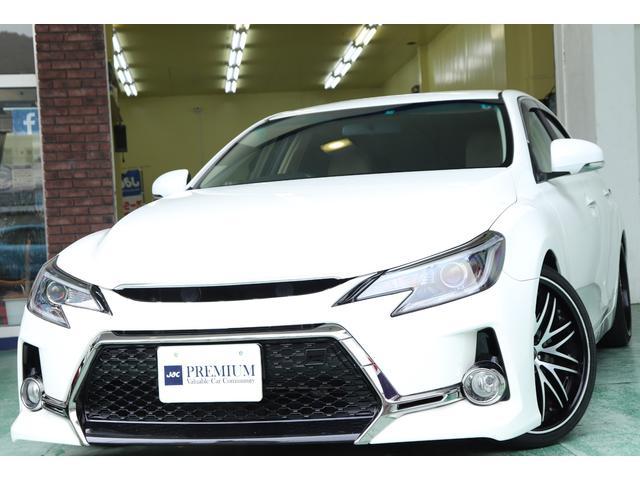 トヨタ マークX 250GリラックスセレクションG,sタイプマスク 車高調
