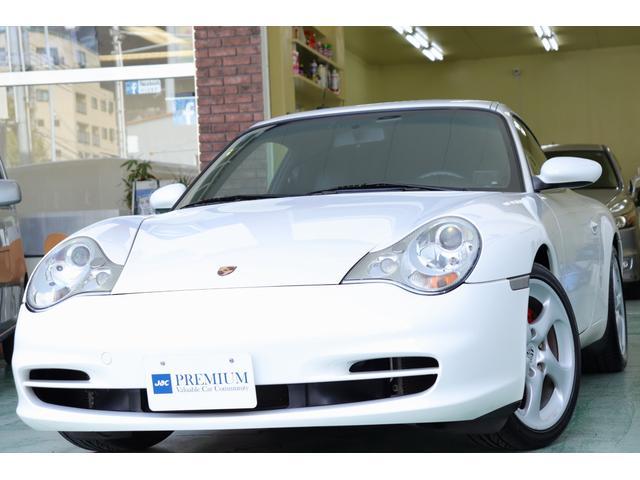 ポルシェ 911カレラ 車検整備付き 2003年モデル 左ハンドル 本革シート 整備記録