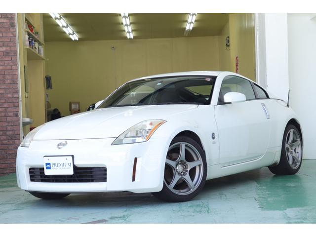 日産 ベースグレード 車検整備付き・6速MT ENKEI製18インチアルミホイール HIDヘッドライト