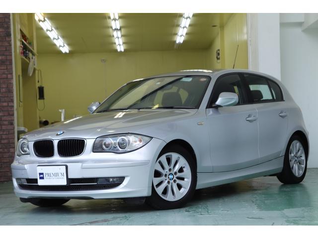 BMW 116i ワンオーナー 社外ナビ バックカメラ HIDヘッド ドラレコ プッシュスタート ディーラー記録簿有 キーレス