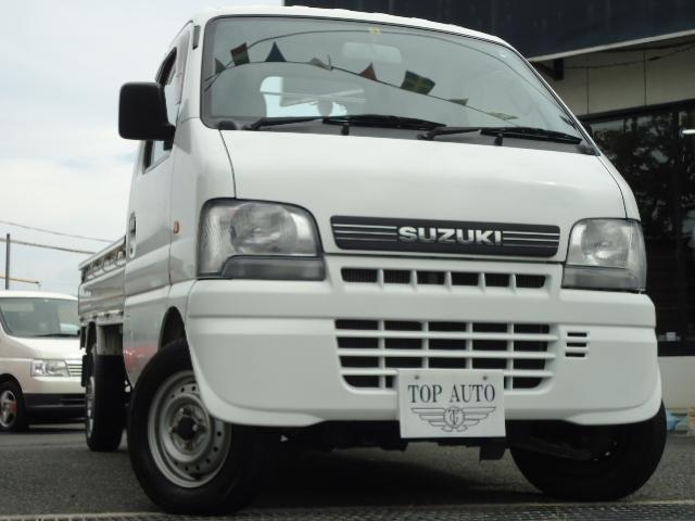 スズキ KUスペシャル 4WD パワステ