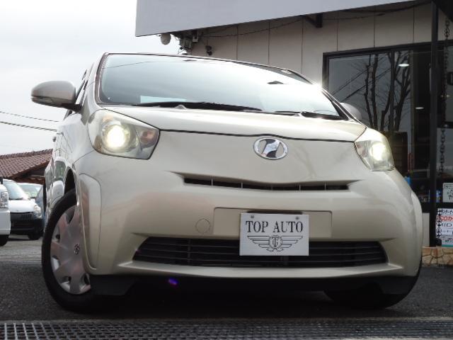 トヨタ iQ 100G ワンオーナー スマートキー レザーハンドル ETC