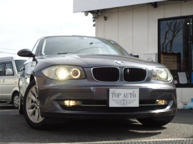 BMW 116i HID 純正アルミ ETC ポータブルナビ