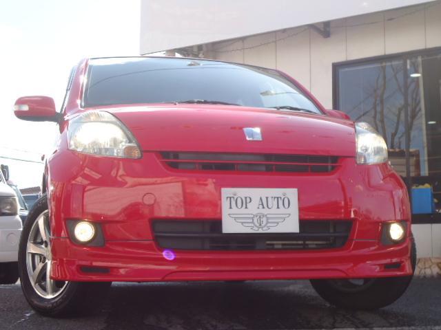 トヨタ パッソ G Fパッケージ エアロ 社外アルミ スマートキー HID ETC
