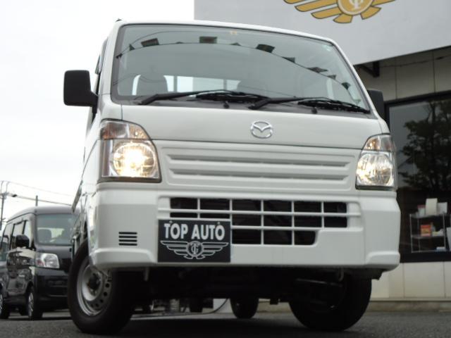 マツダ スクラムトラック KCエアコン・パワステ 4WD 5速ミッション
