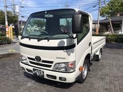 ダイナトラックSシングルジャストロー AT・平ボディー・4.3万キロ