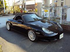 ポルシェボクスター  F5速 車高調 マフラー 03モデル