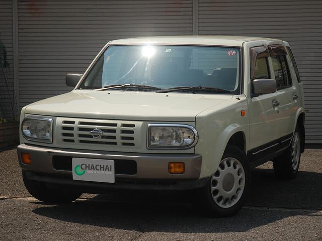 日産 ラシーン タイプI オリジナルレザーシート 背面タイヤカバー