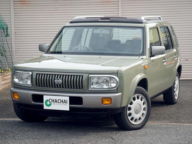 日産 ラシーン タイプII オリジナルレザーシート 背面タイヤカバー
