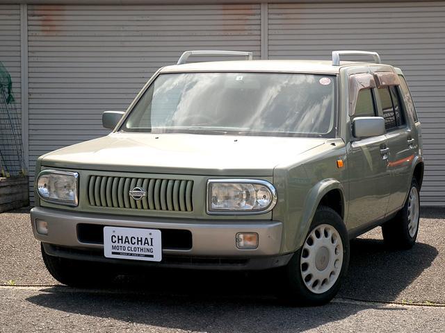 日産 ラシーン ft タイプII オリジナルレザーシート 背面タイヤカバー
