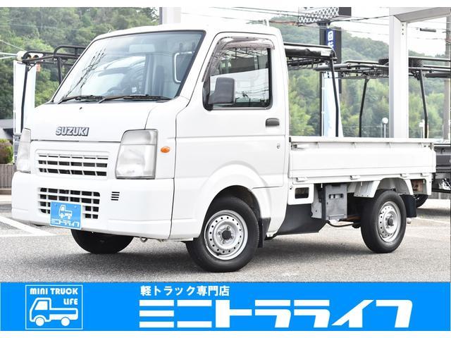 スズキ FCエアコン・パワステ 5MT 4WD ナビ ワンオーナー