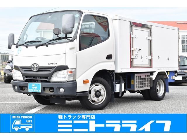 トヨタ 冷蔵冷凍車 -30℃設定 東プレ製 冷凍庫 AT