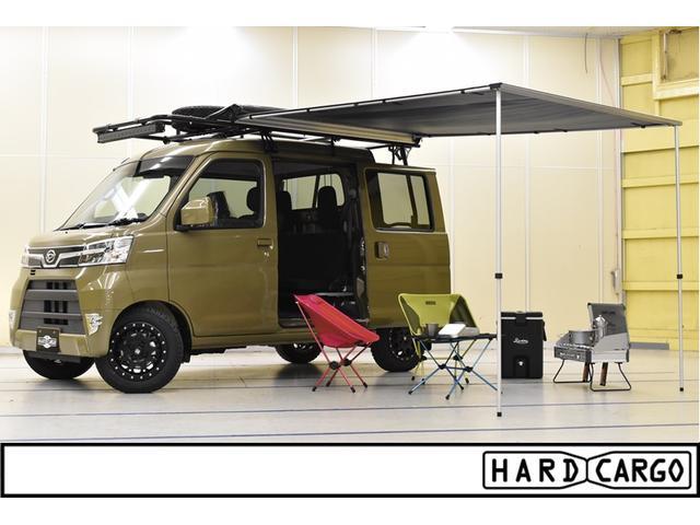 ダイハツ HARDCARGOデッキバン 4AT 4WD