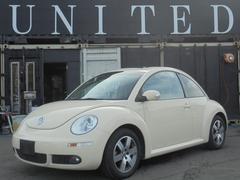 VW ニュービートルLZ 左ハンドル レザシート 安心ロング無料保証付