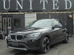 BMW X1sDrive 18i 19アルミ HDDナビ地デジ 保証付