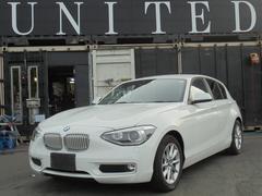 BMW116i スタイル 純正HDDナビ 安心ロング無料保証付