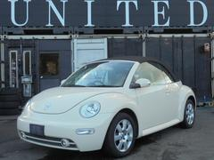 VW ニュービートルカブリオレプラス レザーシート シートヒーター 安心ロング無料保証付