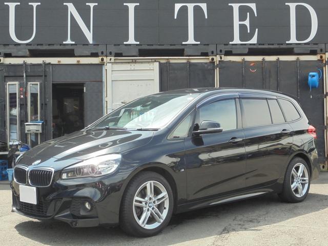 BMW 218dグランツアラー Mスポーツ パワーリアゲート 保証付