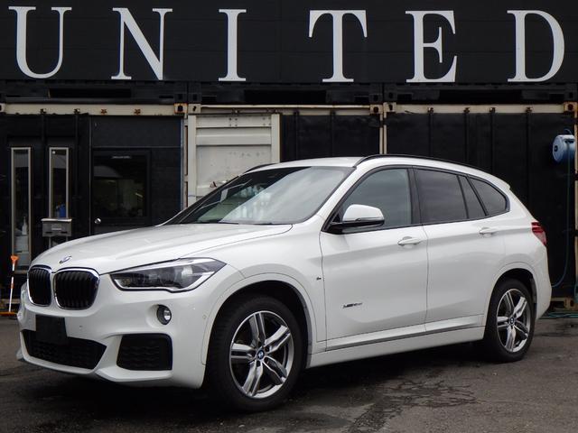 BMW X1 xDrive 18d Mスポーツ 電動リアゲート 純正ナビ バックカメラ コーナーセンサー パーキングサポート 18インチアルミホイール 安心ロング無料保証付