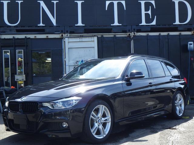 BMW 320dツーリング Mスポーツ クリーンディーゼルターボ ACC 電動リアゲート レザーシート シートヒーター パワーシート 18インチアルミ ミラーETC キセノンライト 安心ロング保証