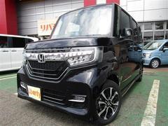 N BOXカスタムG L SENSING スマート 電動S Bモニタ