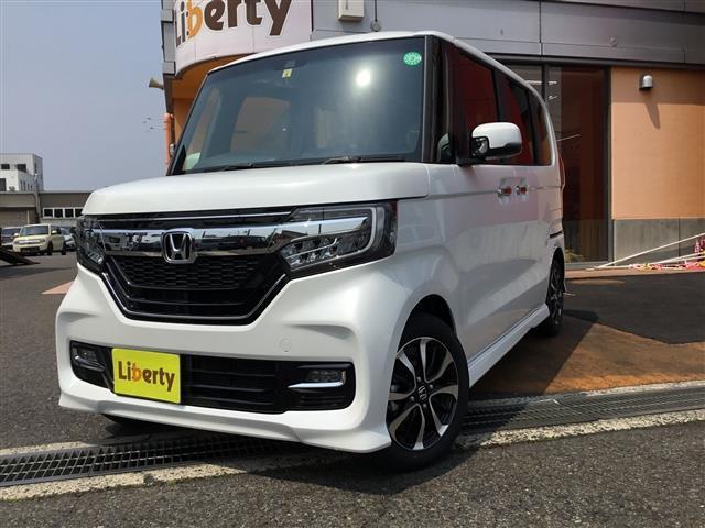 ホンダ N-BOXカスタム G L SENSING スマート 両電S