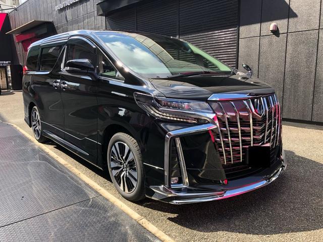 トヨタ 2.5S CパッケージJBL リアモニター 本革シート 3眼
