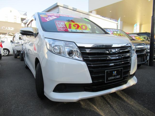 トヨタ ノア X ディライトプラス 純正ナビ・TV・両側パワースライドドア・HIDライトETC