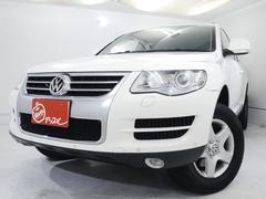 VW トゥアレグV6 黒革シート シートヒータ オートクルーズ パワーシート