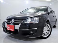 VW ジェッタ2.0TSI スポーツライン ワンオーナー 黒革パワーシート