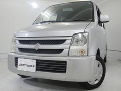 ワゴンRFX ポータブルナビ 禁煙車 純正CDオーディオ