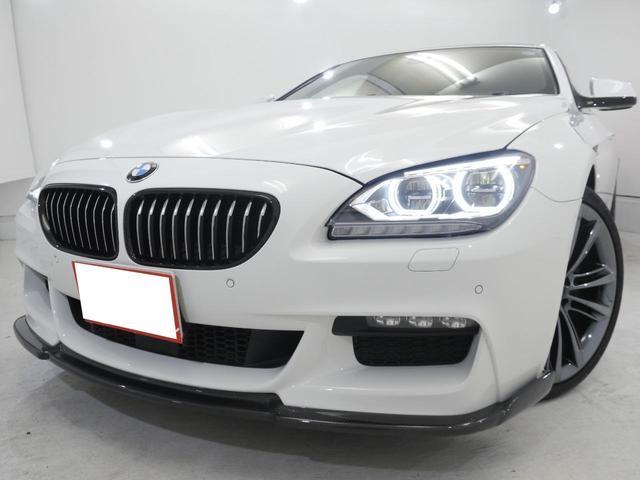 BMW 640iグランクーペMスポーツ 黒革 SR ACC 全国保証