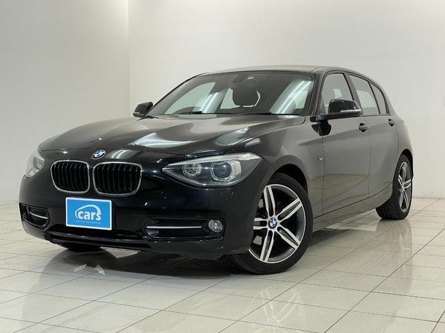 BMW 116i スポーツ ワンオーナー禁煙車 メーカーナビ 社外フルセグTV OP17AW ガレージ保管