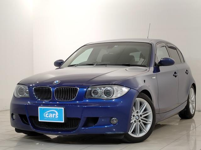 BMW 1シリーズ 130i Mスポーツ 直6 黒レザーパワーシート シートヒーター ビルシュタイン足廻り 純正HDDナビ バックカメラ ディスチャージ ユーザー様買取直売車