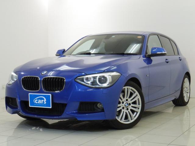 BMW 116i Mスポーツ 全国対応1年保証 ユーザー買取車 Mスポーツ ナビバックカメラ バックソナー 純正17インチアルミ スマートキー