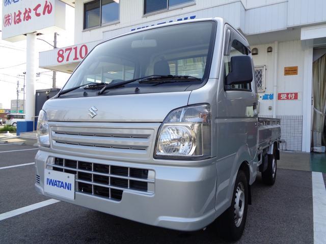 スズキ  AC MT 軽トラック オーディオ付