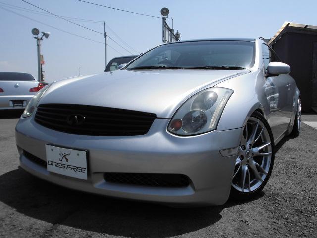 日産 350GT カロッツェリアサイバーナビ JIC車高調 ETC
