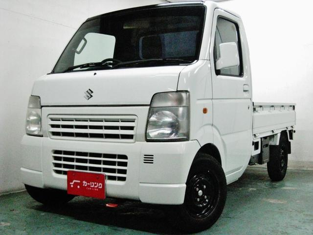 スズキ KCエアコン・パワステ ワンオーナ 5MT フロント車高調