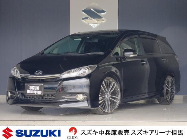 トヨタ 1.8Sモノトーン 4WD サンルーフ ナビ アルミ 車高調