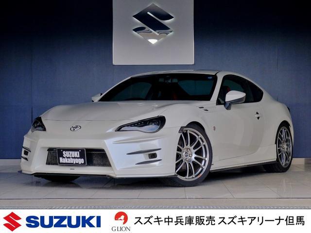 トヨタ GT bradoフルエアロ 車高調 エンケイ19アルミ ナビ