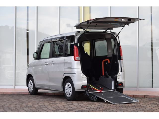 マツダ 車いす移動車 スロープ 電動ウインチ 車いす固定装置