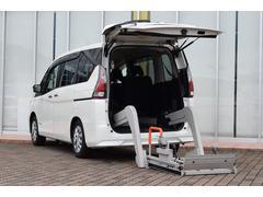セレナチェアキャブ 車いす移動車 リフター オートステップ 車いす固定装置 純正ナビ フルセグTV バックカメラ ETC エマージェンシーブレーキ 両側パワースライドドア クルーズコントロール ステアリングスイッチ