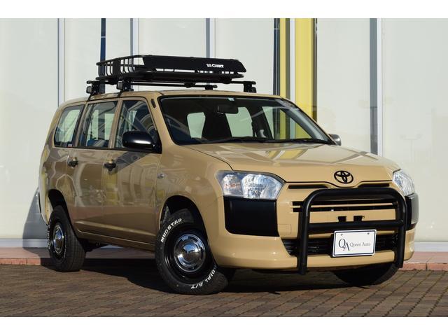 トヨタ DXコンフォート オールペイント オリジナルフロントバンパーガード リフトアップ ルーフキャリア ルーフラック クリムソン15インチアルミ ホワイトレタータイヤ 社外SDナビ バックカメラ キーレスキー ETC TRC