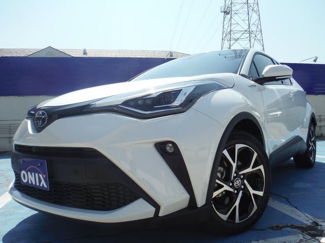 トヨタ C-HR G 新車 7インチフルセグナビ ETC バックカメラ ドライブレコーダー フロアマット&バイザー ボディーコーティング 7点付