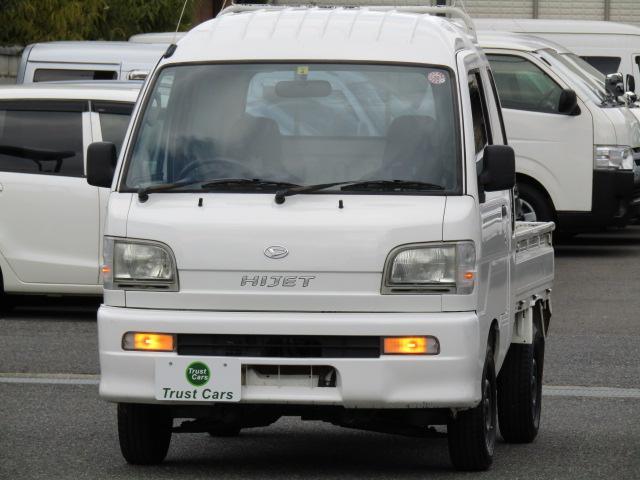 ダイハツ ジャンボ /4WD/CD/AUX/オプションドアスピーカー/エアコン/パワステ/作業灯/