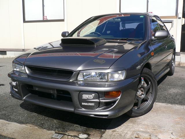 スバル WRX STiバージョンV SSR17AW STiマフラー