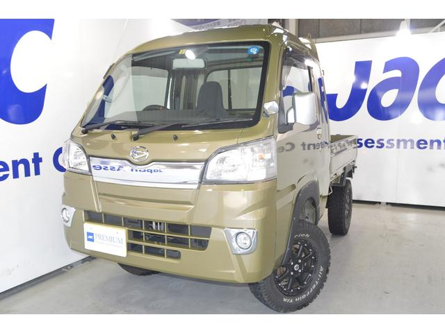 ダイハツ ジャンボ 4WD 14インチアルミ 車高調リフトアップ