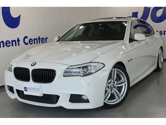 BMW 523i Mスポーツパッケージ 1オーナ禁煙車 D整備記録 サンルーフ KW-Ver3車高調 3Dデザインマフラー  純正19インチAW ブーストアップ Mディフューザー フォグLED TVキャンセラー ドラレコ スマートキー
